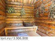Купить «В предбаннике русской бани», фото № 3906808, снято 5 августа 2012 г. (c) FotograFF / Фотобанк Лори