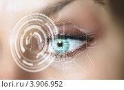 Купить «Цифровой глаз», фото № 3906952, снято 24 августа 2012 г. (c) Sergey Nivens / Фотобанк Лори