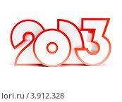 Купить «Стилизованные цифры 2013», иллюстрация № 3912328 (c) Дмитрий Кутлаев / Фотобанк Лори