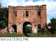 Руины в усадьбе Марфино (2012 год). Редакционное фото, фотограф Free Wind / Фотобанк Лори