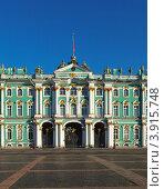 Купить «Зимний дворец в Санкт-Петербурге, Россия», фото № 3915748, снято 3 августа 2012 г. (c) Яков Филимонов / Фотобанк Лори