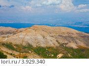 Вид на о. Корфу с горы Пантократор (2012 год). Стоковое фото, фотограф Алексей Кондратьев / Фотобанк Лори