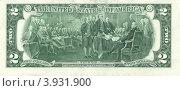 Купить «Банкнота США номиналом 2 доллара», фото № 3931900, снято 19 апреля 2019 г. (c) АЛЕКСАНДР МИХЕИЧЕВ / Фотобанк Лори