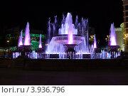 Фонтан в городе Улан-Удэ (2011 год). Редакционное фото, фотограф Юрий Кузнецов / Фотобанк Лори