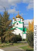 Заринск, церковь (2012 год). Стоковое фото, фотограф Чихний Анастасия / Фотобанк Лори