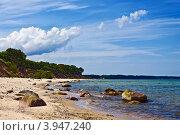 Купить «Берег Балтийского моря в солнечный летний день. Калининградская область», фото № 3947240, снято 10 июня 2012 г. (c) Сергей Трофименко / Фотобанк Лори