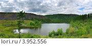 Озеро Икар. Панорама. Стоковое фото, фотограф Владимир Бизюлев / Фотобанк Лори
