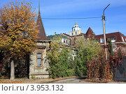 Купить «На улице Щедрина. Рязань», фото № 3953132, снято 14 октября 2012 г. (c) УНА / Фотобанк Лори