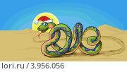 Купить «Змея - символ 2013 года», иллюстрация № 3956056 (c) Станислав Стасюк / Фотобанк Лори
