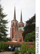 Собор Святого Лукия в Роскилле (Дания) (2011 год). Редакционное фото, фотограф Евгений Вадимович Антейкер / Фотобанк Лори