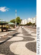Купить «Набережная  пляжа Копакабана в Рио де Жанейро», фото № 3974616, снято 9 сентября 2012 г. (c) Елена Поминова / Фотобанк Лори