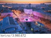 Вечерний Ростов (2012 год). Стоковое фото, фотограф Денис Демков / Фотобанк Лори