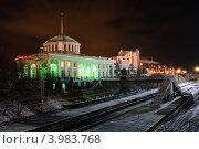 Железнодорожный вокзал. Мурманск (2009 год). Редакционное фото, фотограф OlgaM. / Фотобанк Лори