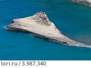 Скала в море в Перуладес на острове Корфу (2012 год). Стоковое фото, фотограф Алексей Кондратьев / Фотобанк Лори