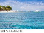 Купить «Филиппины. Лодки у острова Баликасаг», фото № 3988148, снято 8 мая 2012 г. (c) Сергей Дубров / Фотобанк Лори