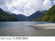 Озеро Рица. Стоковое фото, фотограф konstantin tatonkin / Фотобанк Лори