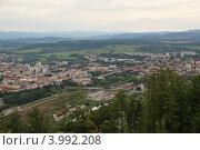 Панорама Зволена (2012 год). Стоковое фото, фотограф Оскар Митревиц / Фотобанк Лори