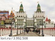 Кремль в Измайлово в Москве (2012 год). Редакционное фото, фотограф Евгений Тучков / Фотобанк Лори