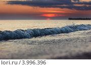 Поздний закат. Стоковое фото, фотограф Антон Юрченков / Фотобанк Лори
