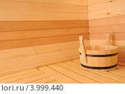 Купить «Интерьер русской бани», фото № 3999440, снято 2 ноября 2012 г. (c) Александр Катайцев / Фотобанк Лори