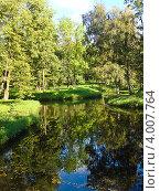 Купить «Водный лабиринт в Гатчинском дворцовом парке», фото № 4007764, снято 10 сентября 2011 г. (c) Юлия Жемкова (Хаки) / Фотобанк Лори