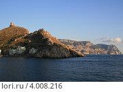 Купить «Горный гребет в Балаклаве», фото № 4008216, снято 20 октября 2012 г. (c) Робул Дмитрий / Фотобанк Лори
