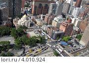 Нью Йорк, Манхеттан. Стоковое фото, фотограф Felix Bensman / Фотобанк Лори