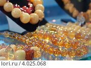 Купить «Украшения из янтаря», фото № 4025068, снято 2 августа 2012 г. (c) Яков Филимонов / Фотобанк Лори