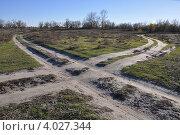 Дорожный крест. Стоковое фото, фотограф Николай Сальников / Фотобанк Лори