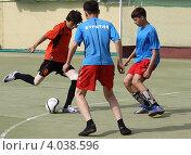 Купить «Мини-футбол среди школьных команд. Чечня-Бурятия.», фото № 4038596, снято 15 июня 2010 г. (c) Наталья Горкина / Фотобанк Лори