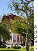 Храм Ват Чалонг (Wat Chalong). Пхукет. Таиланд (2012 год). Редакционное фото, фотограф Сергей Плешаков / Фотобанк Лори