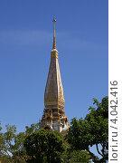 Храм Ват Чалонг (Wat Chalong). Пхукет. Таиланд (2012 год). Стоковое фото, фотограф Сергей Плешаков / Фотобанк Лори