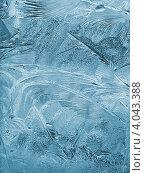 Купить «Морозные узоры на стекле - зимний фон», фото № 4043388, снято 9 ноября 2012 г. (c) Светлана Ильева (Иванова) / Фотобанк Лори