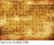 Купить «Абстрактный оранжевый фон с растительным орнаментом», иллюстрация № 4062196 (c) Анна Павлова / Фотобанк Лори