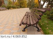 Скамья (2011 год). Стоковое фото, фотограф Михаил Бессмертный / Фотобанк Лори