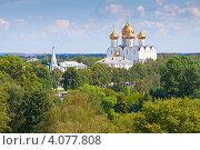 Купить «Успенский собор в Ярославле», фото № 4077808, снято 28 июля 2012 г. (c) Яков Филимонов / Фотобанк Лори