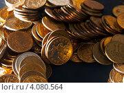 Монеты крупным планом. Стоковое фото, фотограф Шишова Анна Сергеевна / Фотобанк Лори