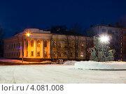 Купить «Зимний городской пейзаж в Костроме», фото № 4081008, снято 14 марта 2012 г. (c) ElenArt / Фотобанк Лори