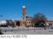 Купить «Вид на церковь святого Лазаря. Ларнака, Кипр», фото № 4085576, снято 27 мая 2012 г. (c) Виктор Карасев / Фотобанк Лори