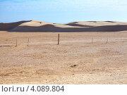 Купить «Песчаные дюны. Пустыня Сахара, Тунис», фото № 4089804, снято 3 мая 2012 г. (c) Кекяляйнен Андрей / Фотобанк Лори