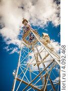 Телебашня (2012 год). Стоковое фото, фотограф Loboda Dmitriy / Фотобанк Лори