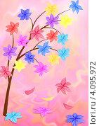 Цветы. Стоковая иллюстрация, иллюстратор Наталья Хромова / Фотобанк Лори