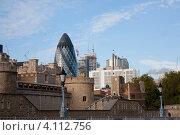 Небоскреб в виде яйца Фаберже в центре Лондона (2009 год). Редакционное фото, фотограф Svetlana Mihailova / Фотобанк Лори