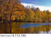 Золотая осень. Стоковое фото, фотограф Антон Юрченков / Фотобанк Лори