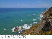 Скалы на побережье Португалии (2012 год). Стоковое фото, фотограф юлия заблоцкая / Фотобанк Лори