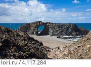 Купить «Пляж на западном побережье острова Фуэртевентура, Канарские острова», фото № 4117284, снято 29 ноября 2012 г. (c) Tamara Kulikova / Фотобанк Лори