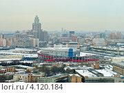 Купить «Москва. Стадион на Ходынке», фото № 4120184, снято 14 декабря 2012 г. (c) Зобков Георгий / Фотобанк Лори