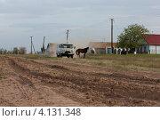 Эльтон сельский пейзаж (2012 год). Редакционное фото, фотограф Маргарита Волгина / Фотобанк Лори