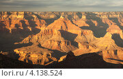 Закат в Гранд-Каньоне, США (2010 год). Стоковое фото, фотограф Антон Соколов / Фотобанк Лори