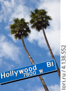 Голливуд (2010 год). Стоковое фото, фотограф Антон Соколов / Фотобанк Лори